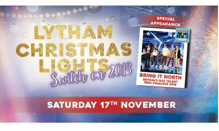 Lytham Christmas Lights Switch On
