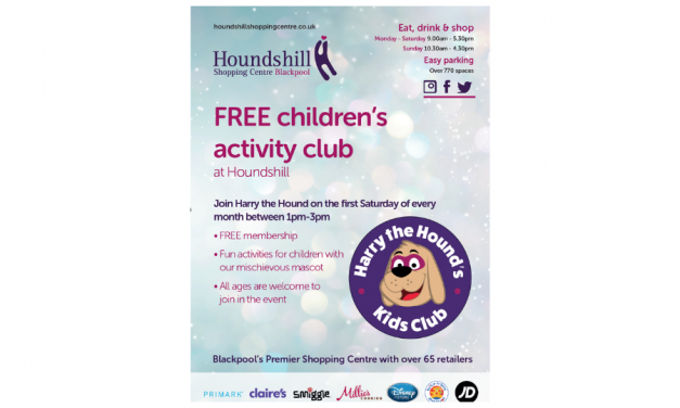 Harry The Hounds FREE Kid's Club at Houndshill Shopping Centre